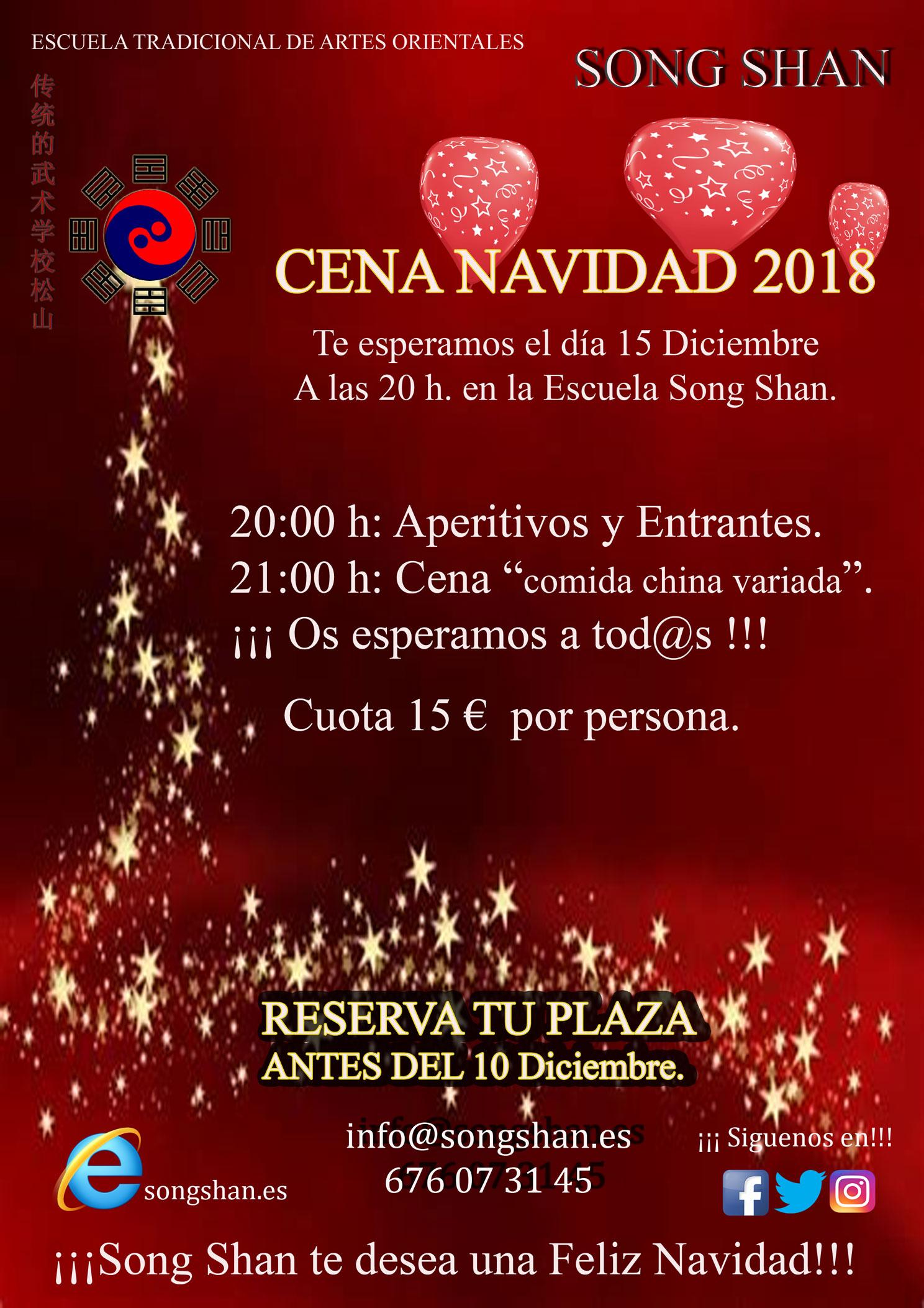 Cena navidad 2018