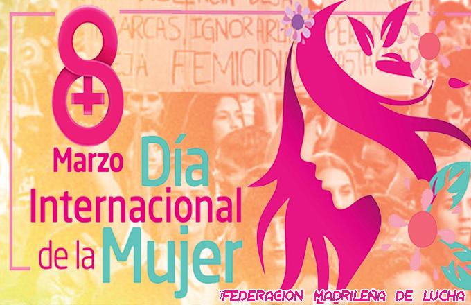 8 Marzo Día Internacional de la Mujer – Jornadas Autoprotección