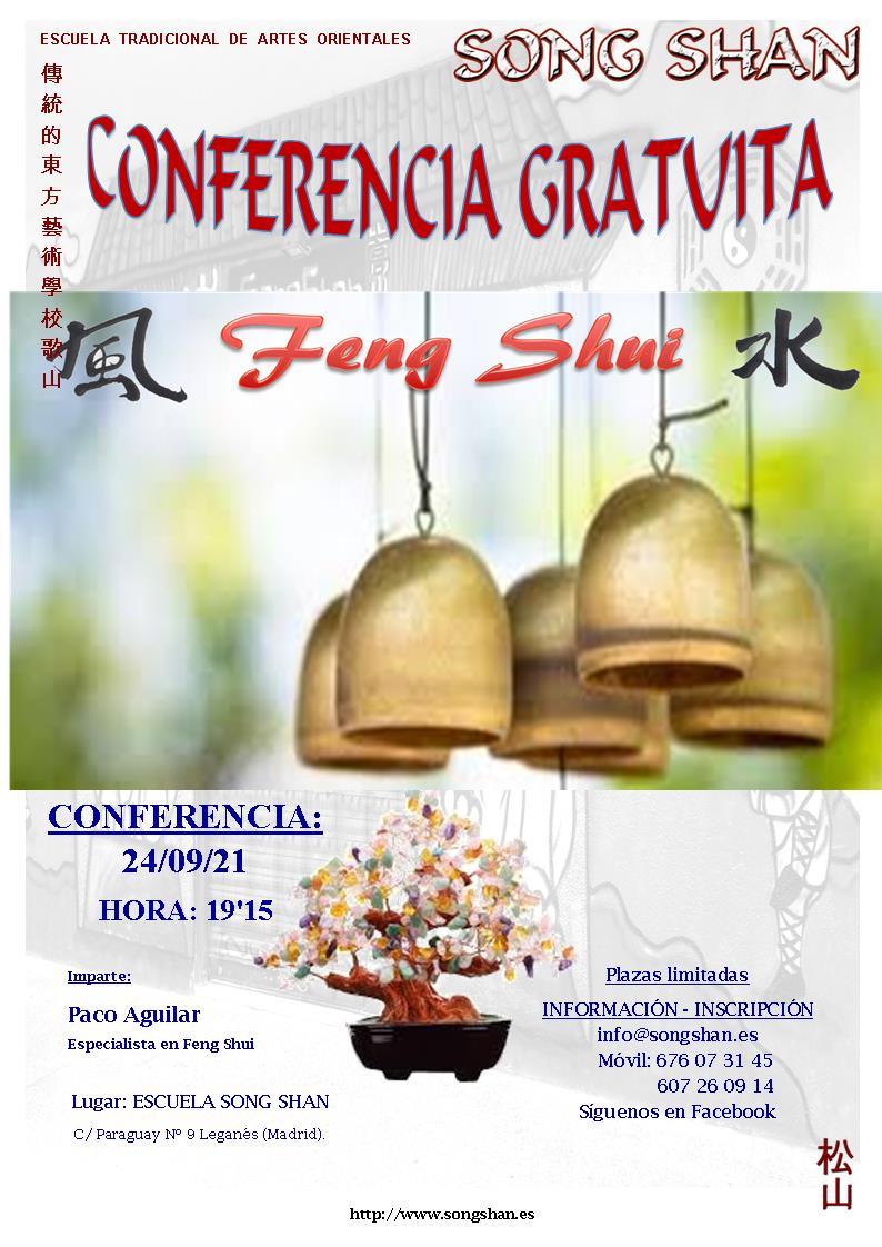 CONFERENCIA GRATUITA FENG SHUI