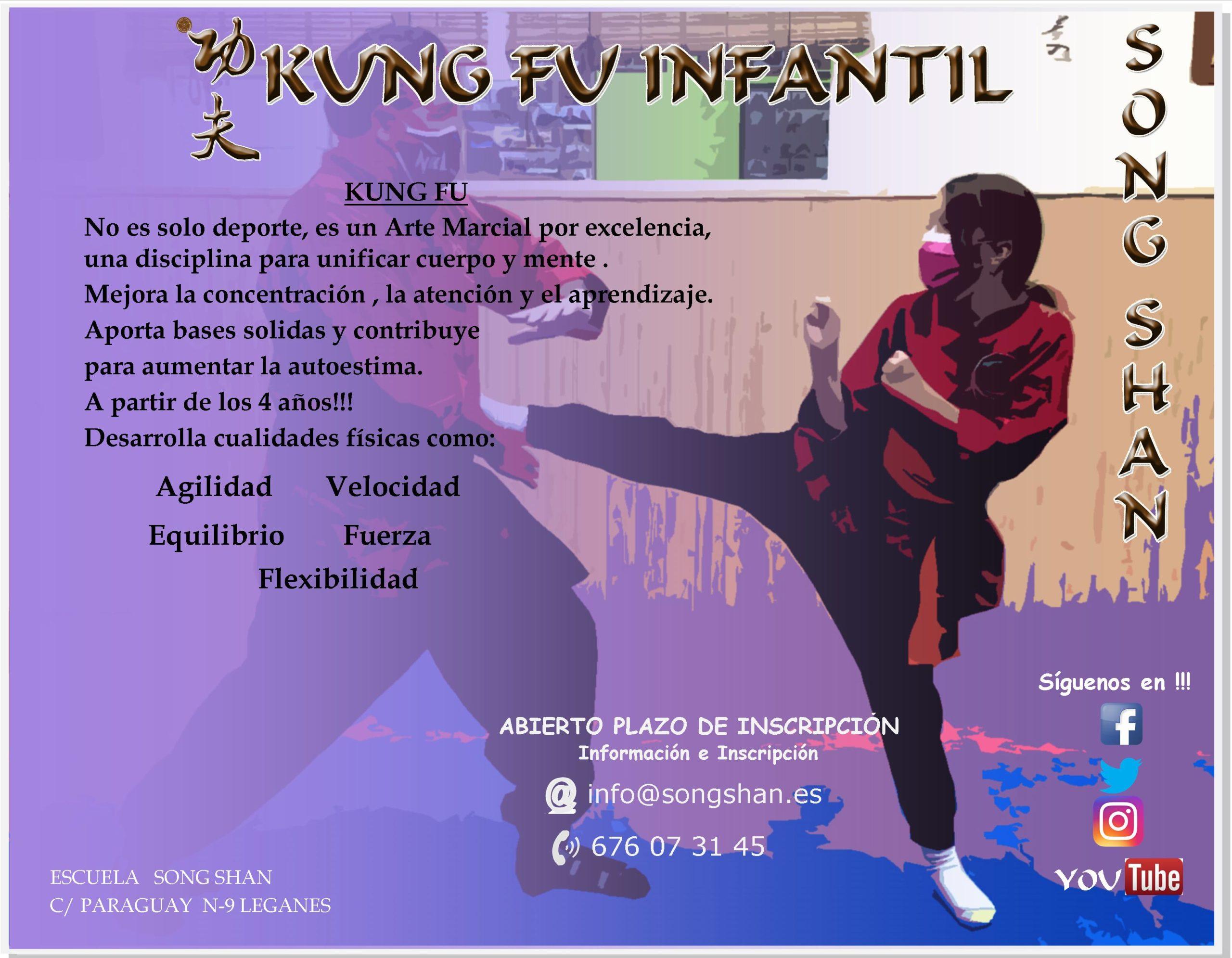 Clase abierta Kung Fu KIDS