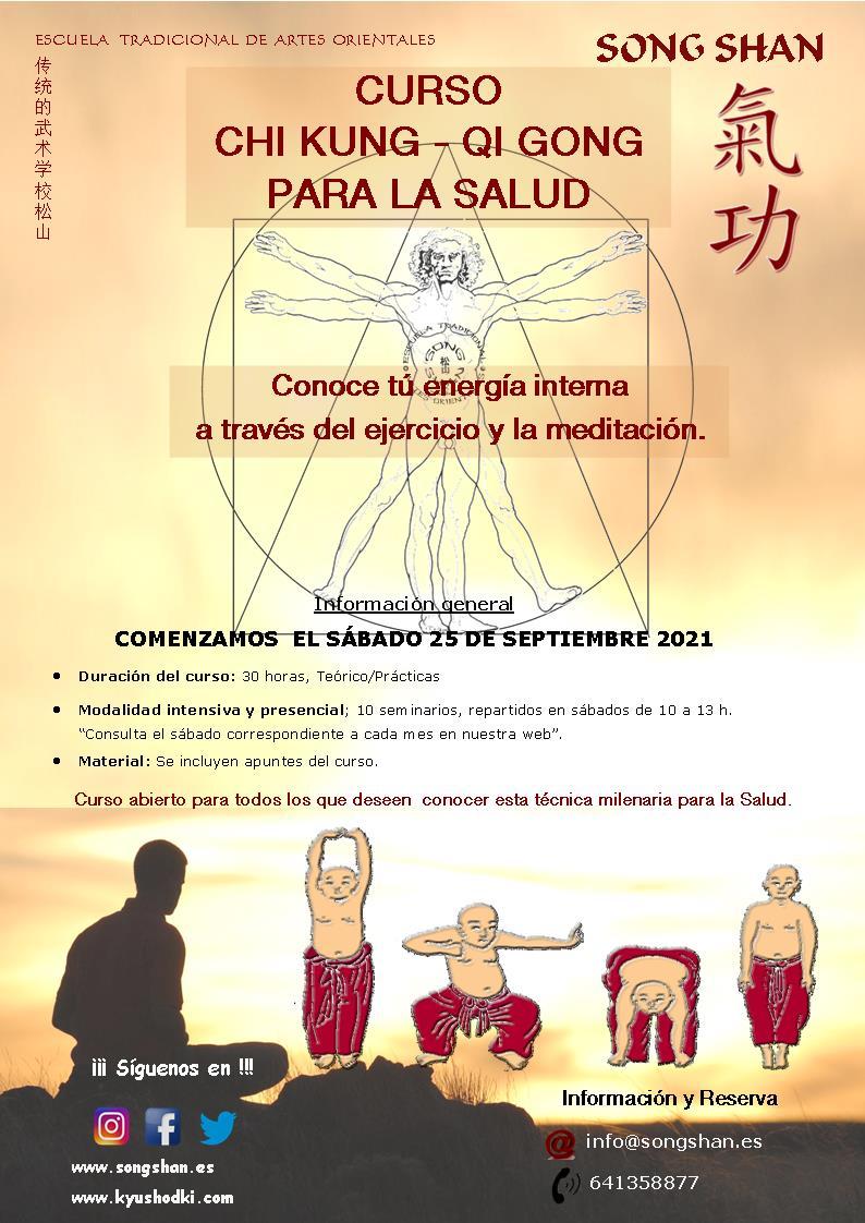 Curso Intensivo de Chi Kung 2021-22